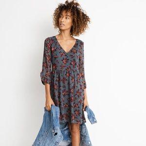 Madewell Ruffle-Sleeve Dress